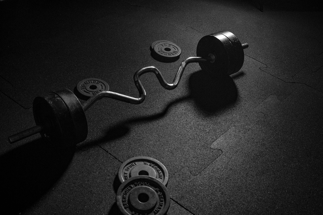 dumbbell, sport, weights